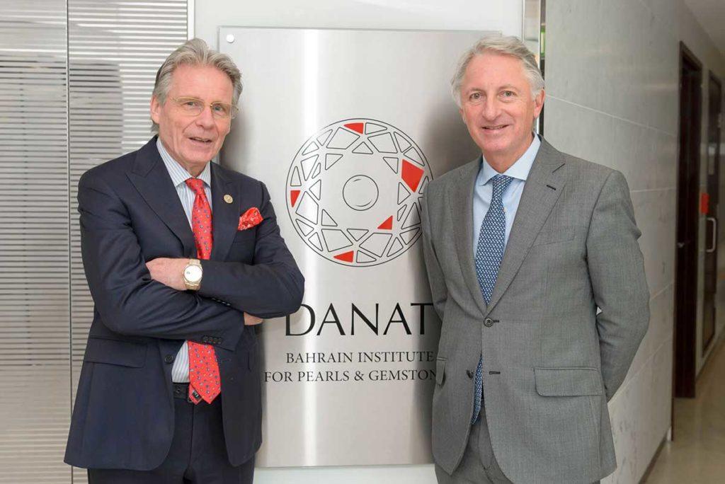 World Famous Christie's Auction House Visits DANAT