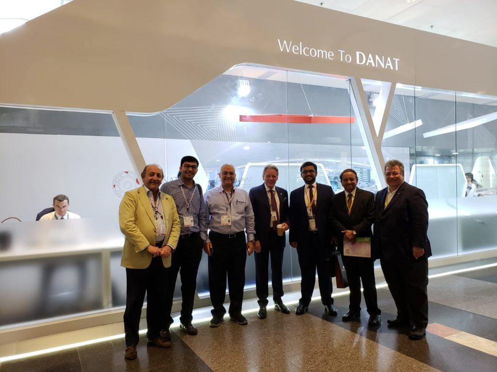 DANAT looks forward to building upon this success at its next show Jewellery Arabia Bahrain in November 2018'.
